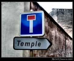 God's dead end... by Michel-Lag-Chavarria