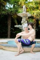 Shinji // Kaworu by DakunCosplay