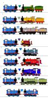 Thomas the Ladies Man by sodormatchmaker
