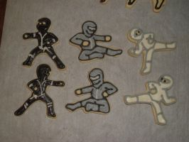 Ninja Cookies by PlummyPress