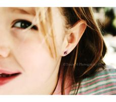 The Day I Got My Earrings by tracieteephotography