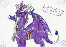 Kranoth the chronicler by IcelectricSpyro