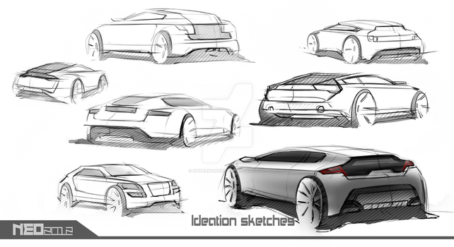car sketch-neo 2012 by spidermanneo