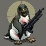Sanguine Penguin by ghostfire