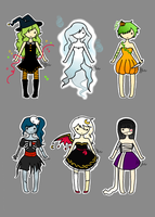 uguu halloween adopts [CLOSED] by mintykat