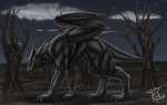 Shadow Painting by 768dragon