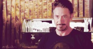 GIF Tony Stark by SofiiaM