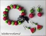 Watermelons by tishaia