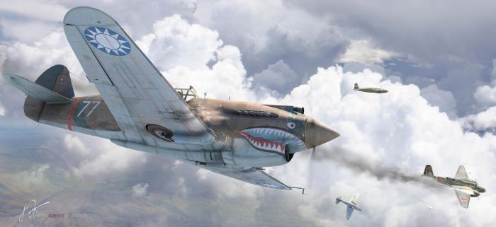 Flying Tigers by rOEN911