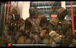 Orcs in subway by Yshara