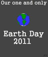 Earth Day 2011 Poster by Tesla51