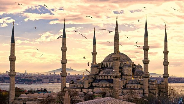 Istanbul Blue Mosque Wallpaper HD_SA by shaffiqazman