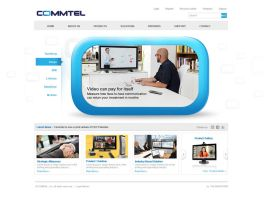 Commtel Web option2 by 11thagency