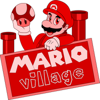 Mario Village Logo by ZeFrenchM