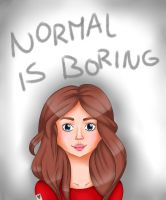 Normal Is Boring by expectatinqs