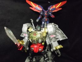 Masterpiece Grimlock, amazing by forever-at-peace