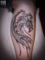 dragon by ABYSS-TAT-2S