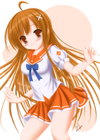 Mirai Suenaga (Culture Japan) - Fanart by red-cyber
