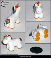 Rainbow Unicorn by Havok452