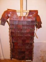 indian leather armor by orionmtp