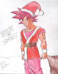 Merry Christmas Goku! by Red93nojutsu