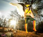 Hawkgirl - Calm before the storm by bgzstudios