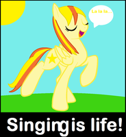 Singing is life! by Nefeloma21