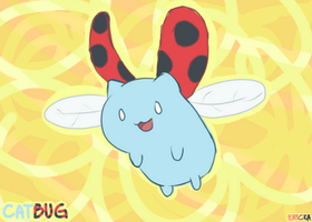 Oh look, a catbug! by Erin-Chan143