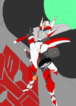 Drift--TF Prime fancomic cover WIP by mangakallector