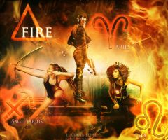 The FIRE - Astrology by LuLebel