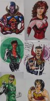 Wizard World Philadelphia 2012 Commission Collage by amtaylor12