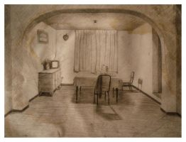 Interior Study - Old Works by SILENTJUSTICE