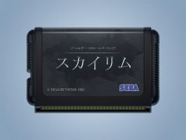 japanese megadrive cart by xbost