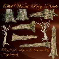 Old Wood PNG pack by kayshalady