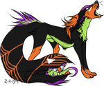 Halloween Themed Tailmouth Adoptable-(CLOSED) by Amabyllis
