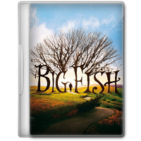 Big Fish (2003) Movie DVD Icon by A-Jaded-Smithy