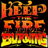 Keep the Fire Burning by roberlan