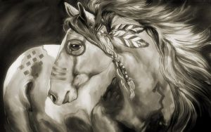 Sioux Warhorse 9 by welshdragon