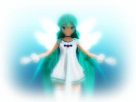 [MMD] Guardian Angel by Kara-chann
