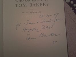 Tom Baker's Signature by SJArt117