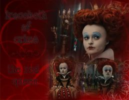 Red Queen 'wallpaper' by Darianella
