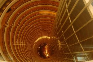 Jin Mao Tower core by wildplaces