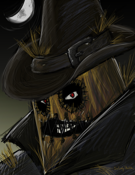 Scarecrow: Year One by SirLadySketch