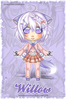 Chibi Paper Doll Commission by ImHisEternalAngel