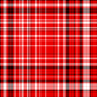 Red plaid by HeartlessInu