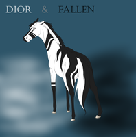 Dior and Fallen by Redbell9