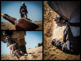 AC IV -  To find hidden treasure. by CreedCosplay