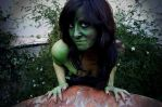 Lizard Woman Body Paint 09 03 by SitaMushroom