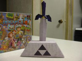 Master Sword -OoT- Papercraft by Lantis02