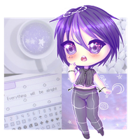 [Aesthetic Adopt] It's All Purple In Space by Ruerie